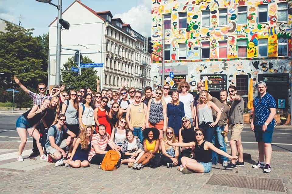 Saturday, 21 May 2016 Free Tour Leipzig