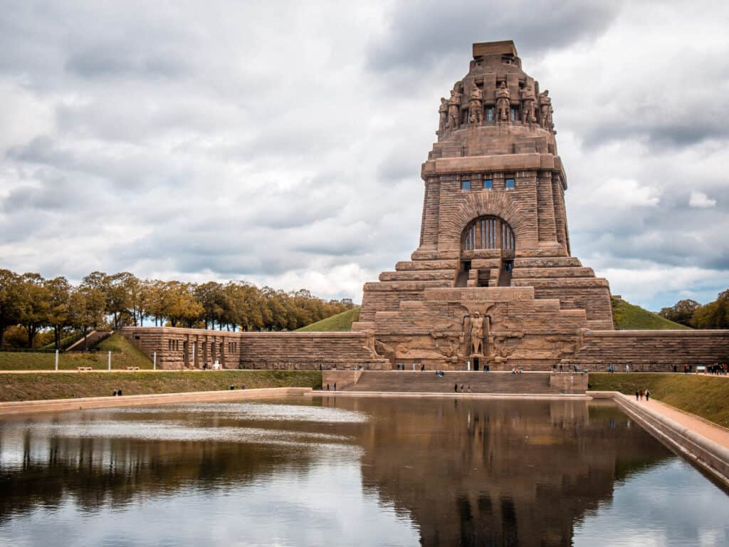 Völkerschlachtdenkmal Leipzig, Monument of the battle of nations, Leipzig, Germany