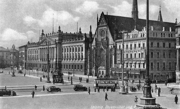 Universitätskirche St Pauli Leipzig alt