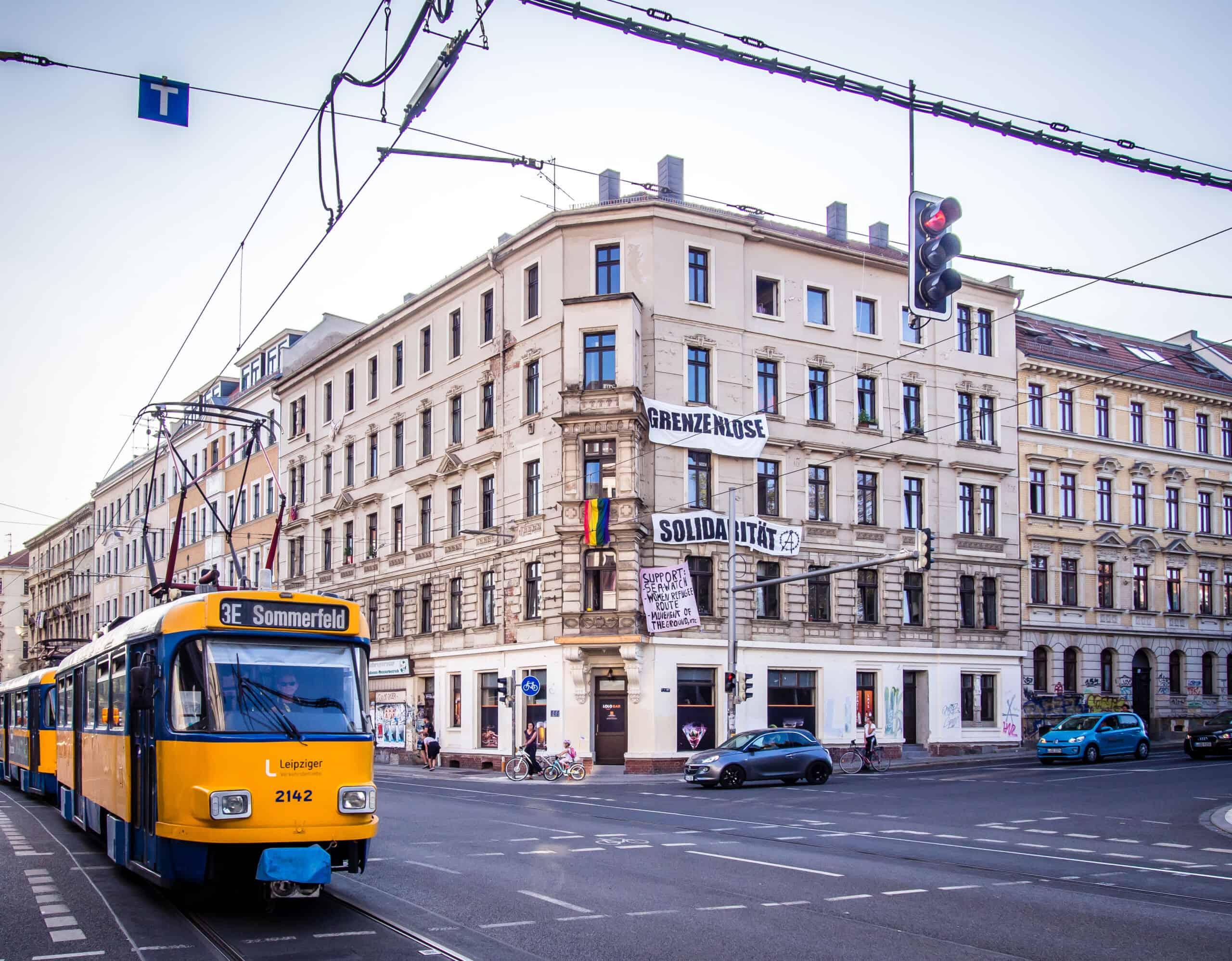Tatra Tram Leipzig