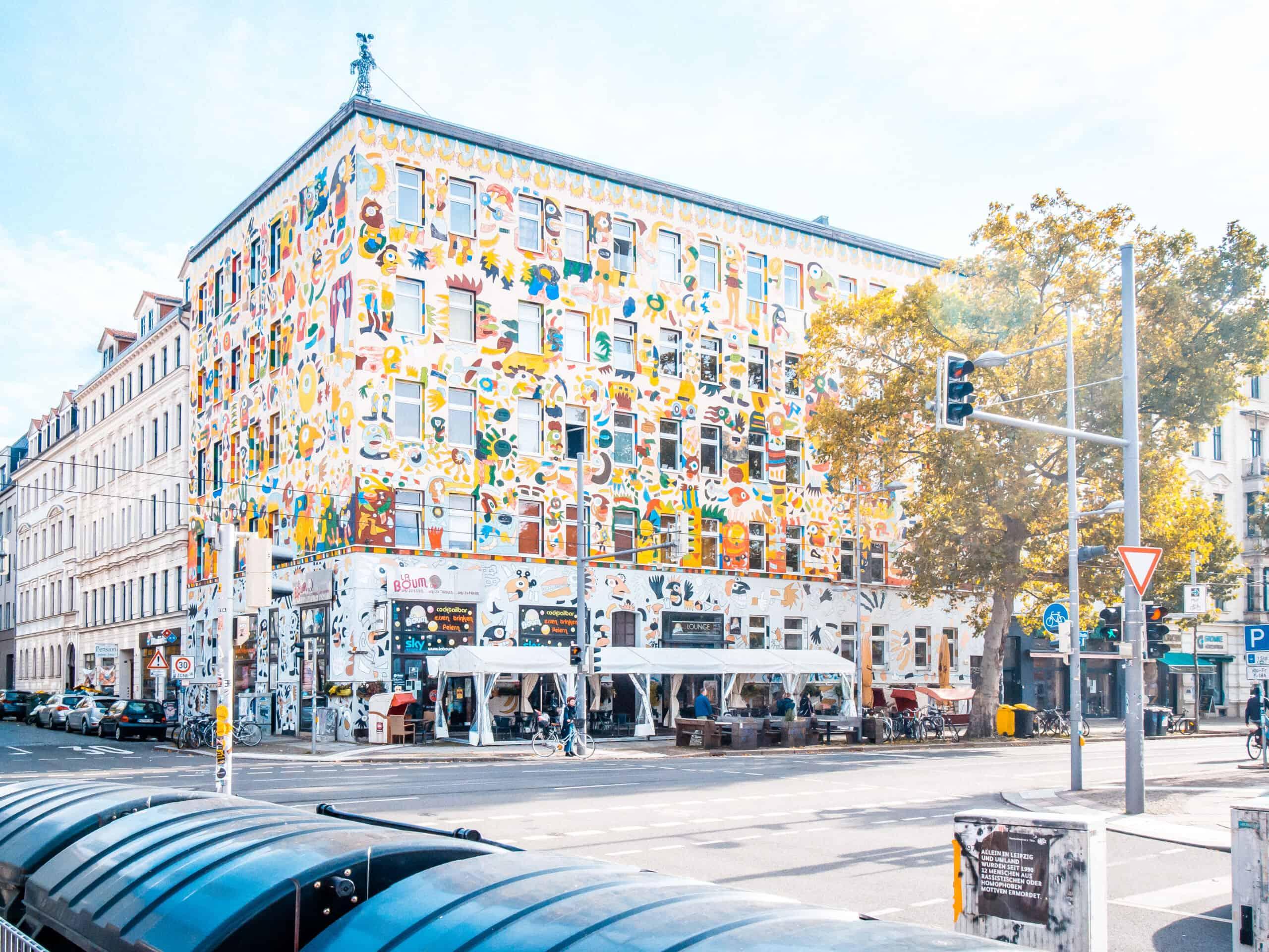 StreetArt Leipzig Fischer Art