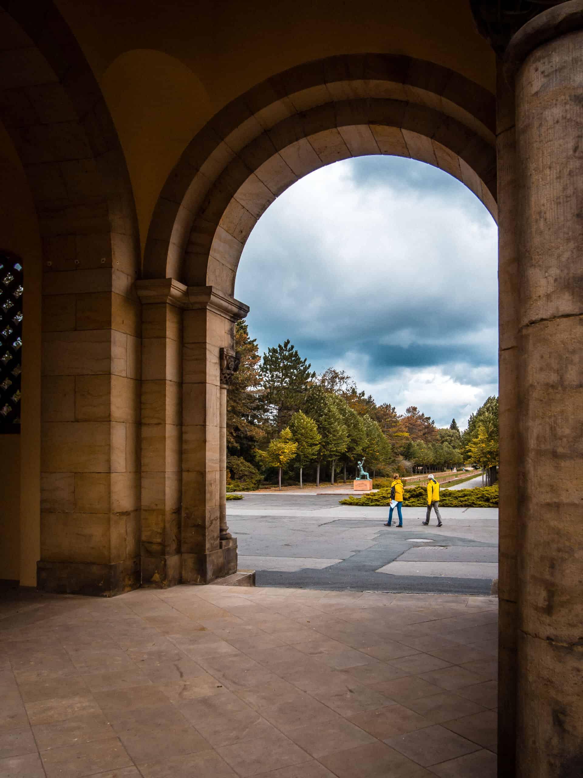 Südfriedhof Leipzig Portal Krematorium